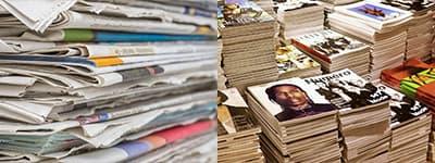Compra de Papel Reciclado Periodico revistas